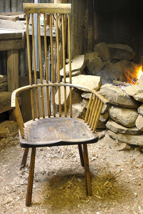 Rusty's Welsh Stick Chair